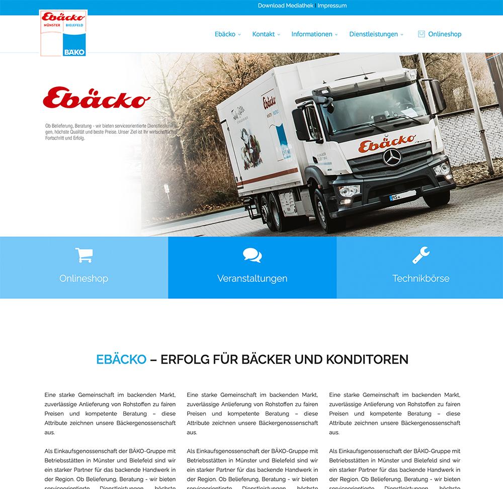 Ebäcko Münster I Bielefeld